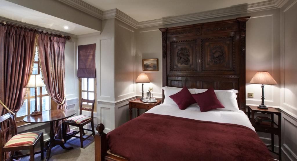 ハズリットホテルの客室