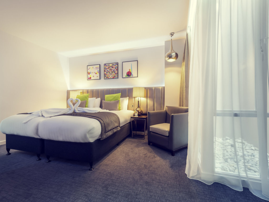 メルキュールロンドンパディントンホテルの客室