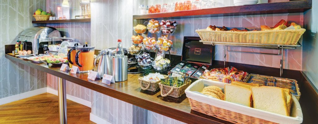 ホテルコーマルタンオペラの朝食