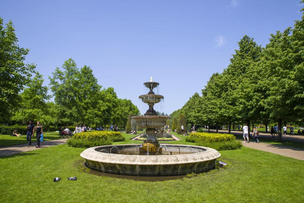 リージェントパークの風景