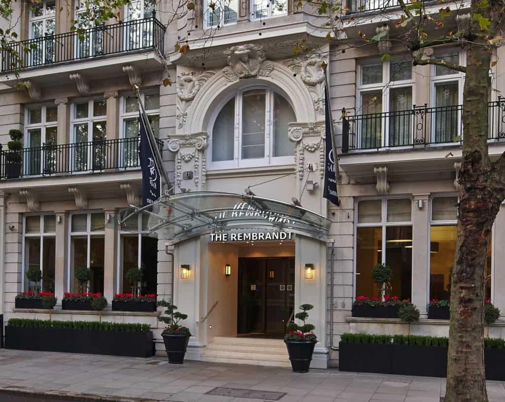 レンブラントホテルの外観