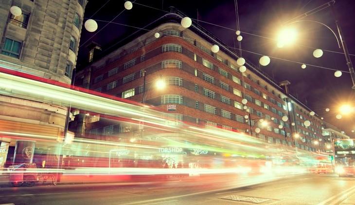 アンバホテルマーブルアーチの外観