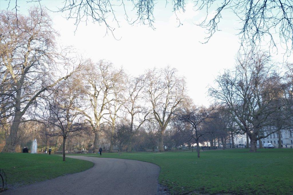 1月のロンドン
