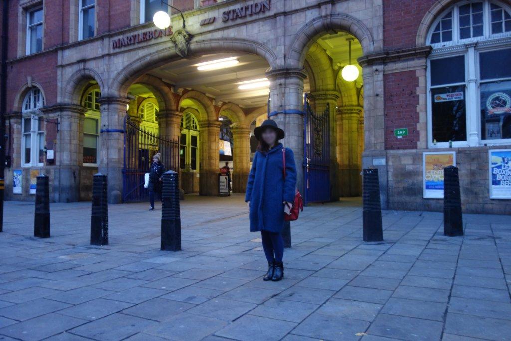 1月のロンドンの服装