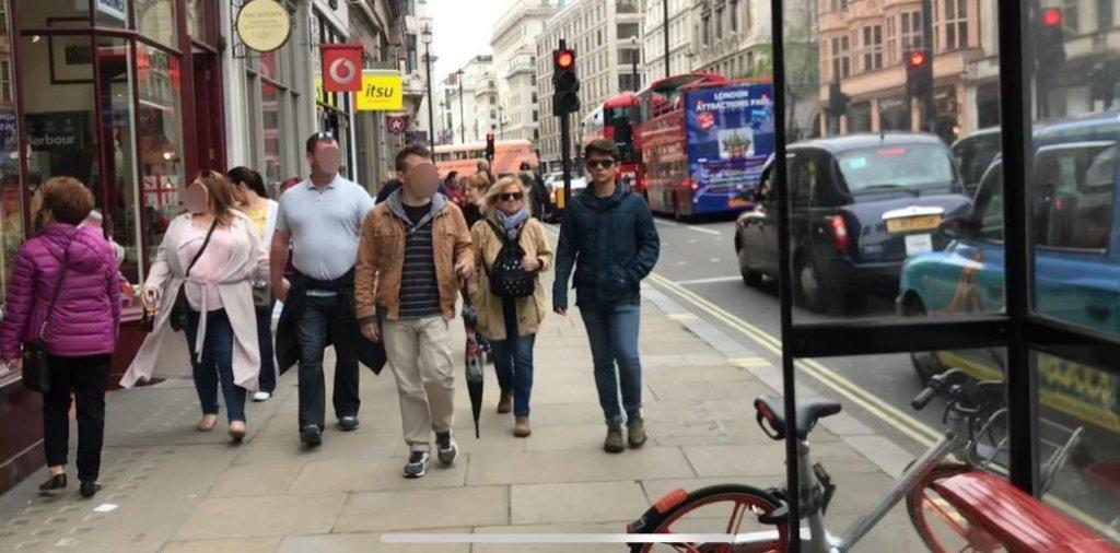5月のロンドンの服装