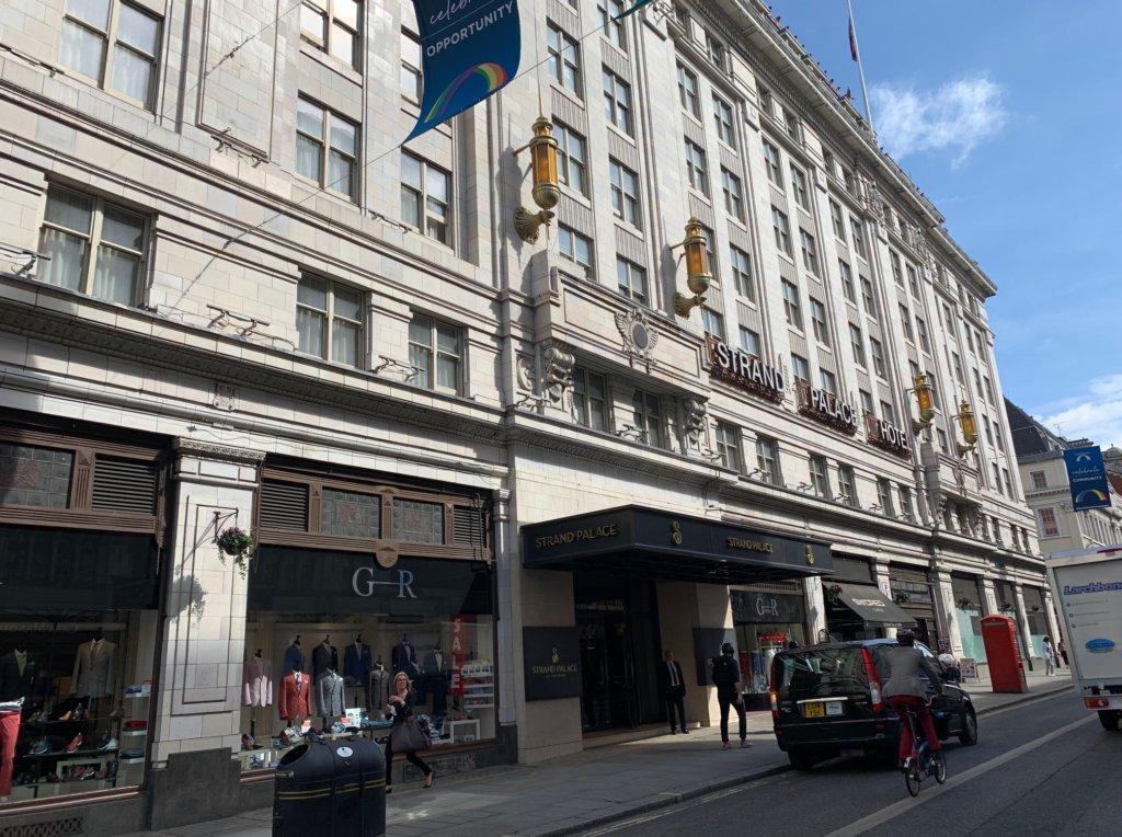 ロンドンのストランドパレスホテル